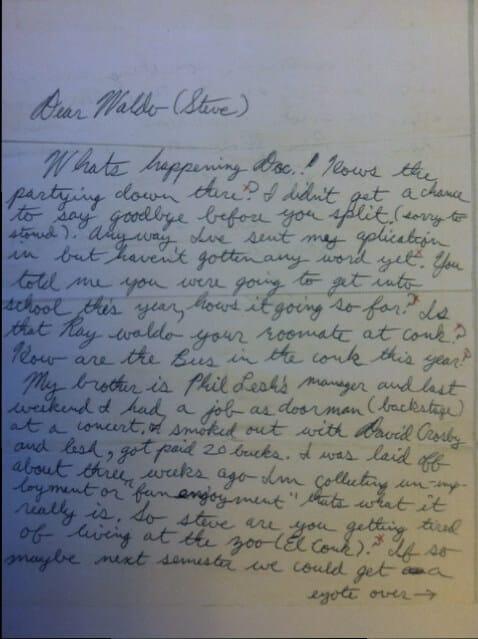 Oproštajno pismo kao dokaz za 420