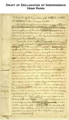 Prva deklaracija o neovisnosti je napisana na papiru od konoplje