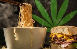 povećani apetit nakon konzumacije marihuane