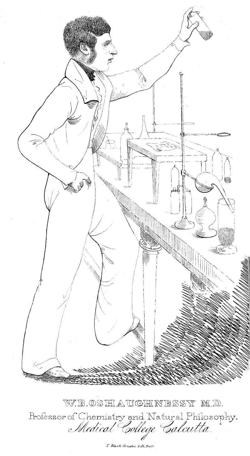 Marihuana i pokusi su usko povezani s W.B. O'Shaughnessyem.