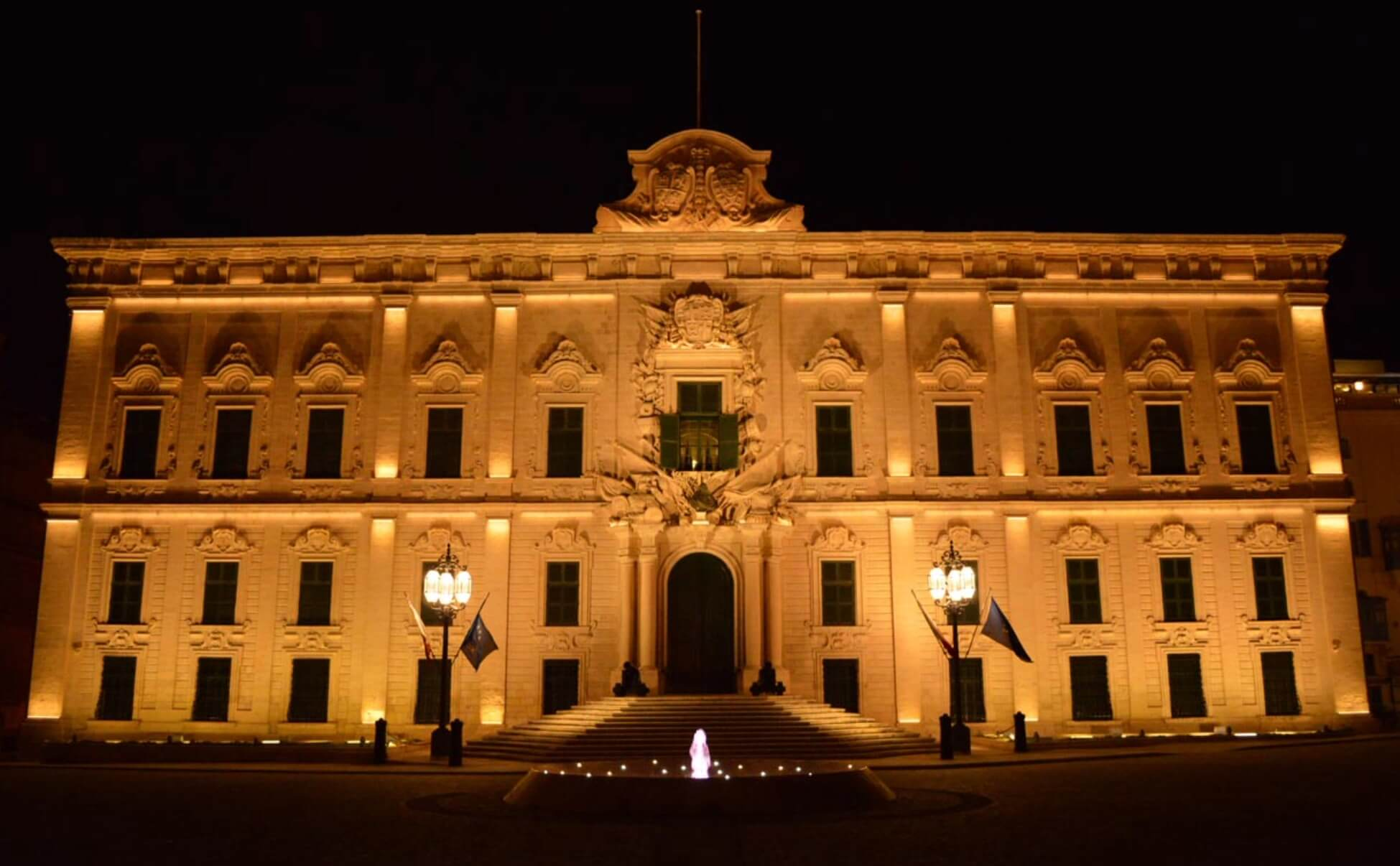 Auberge de Castille, zgrada premijera Malte.