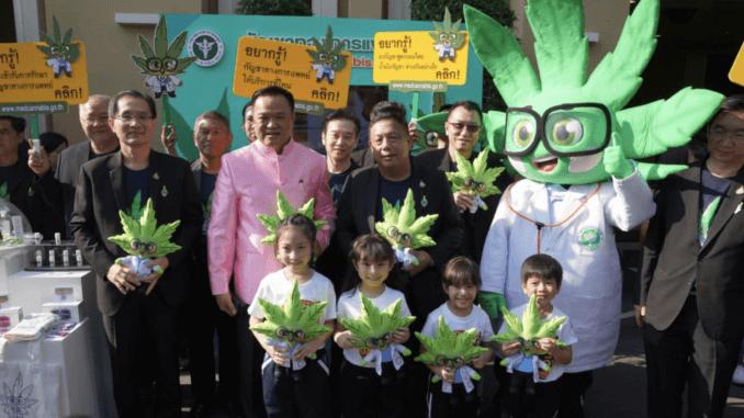 U tajlandu se javno konzumira ulje od kanabisa