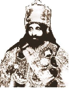 Halie Selassie, car Etiopije