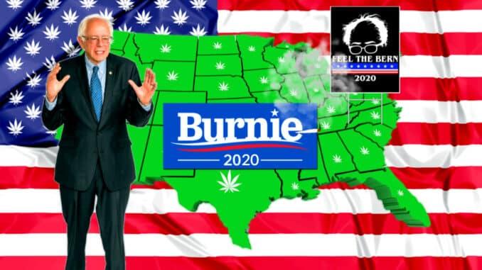 Bernie Sanders će legalizirati kanabis u svih 50 država