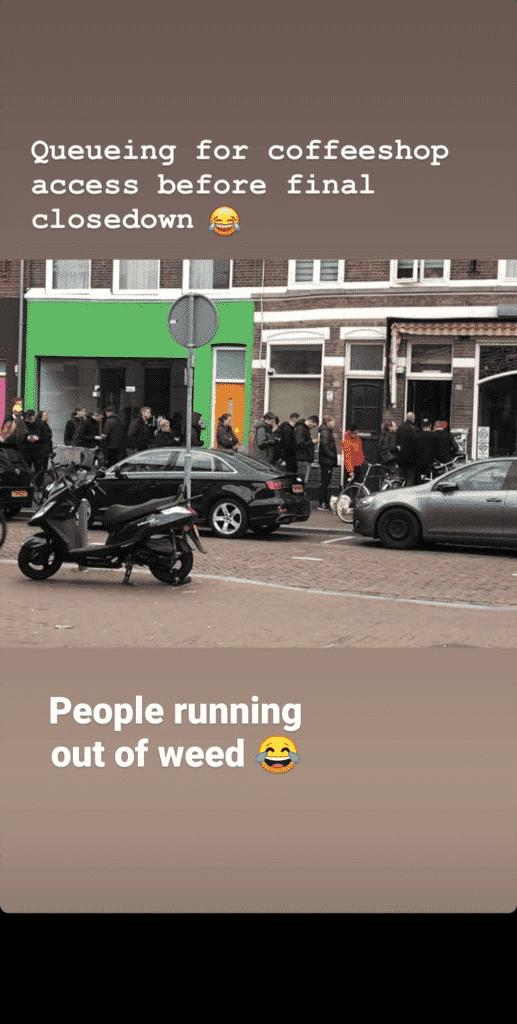 Ogromni redovi u Amsterdamu nastali zbog epidemije koronavirusa