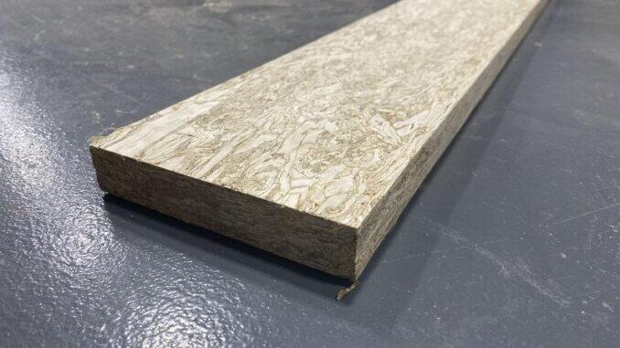 Hempwood drvo se proizvodi od stabljika konoplje i ljepila na bazi soje