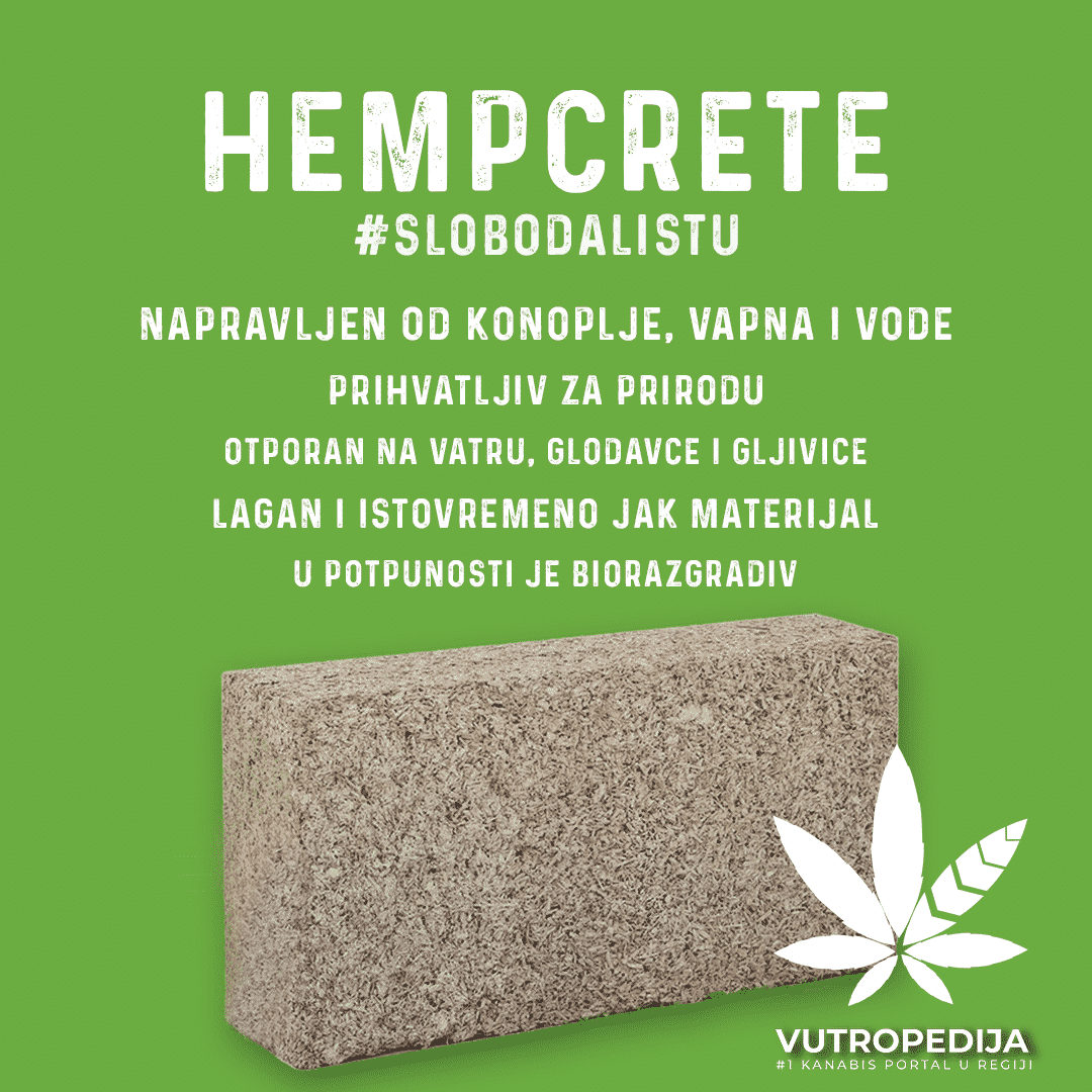Hempcrete blokovi se najviše koriste za konstrukciju rezidencijalnih kuća, apartmana i industrijske pregrade kako bi se poduplali zidovi radi izolacije.