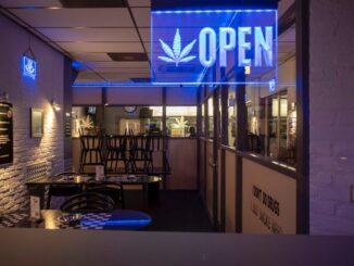 Coffee shop u nizozemskoj.