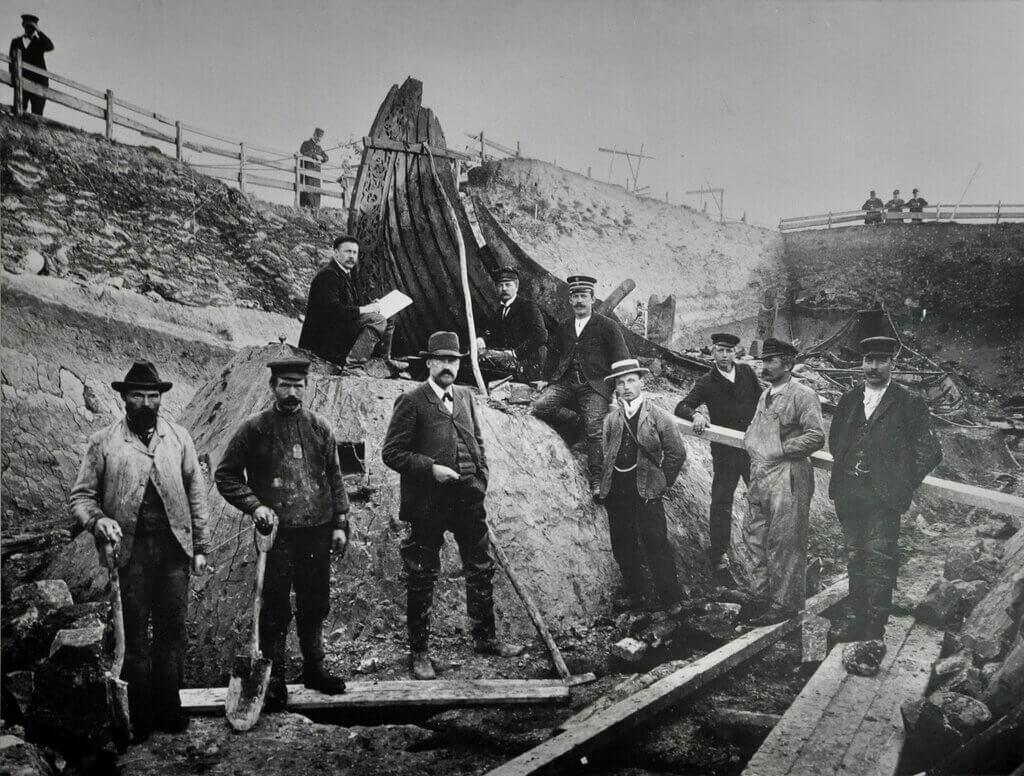 Arheološko nalazište Oseberg, 1904/5.