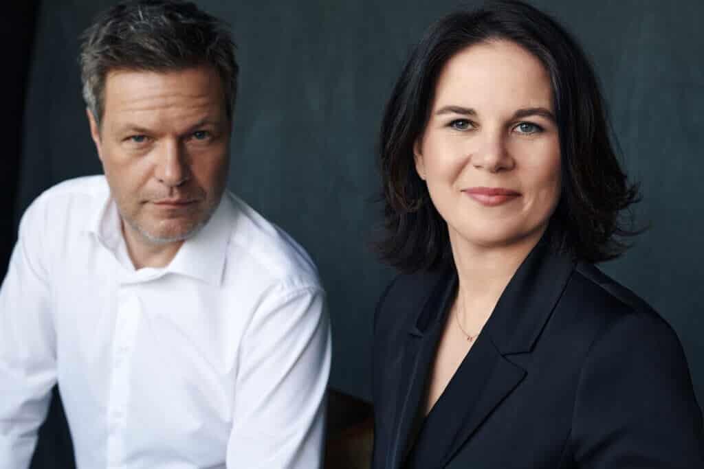 Annalena Baerbock i Robert Habeck, vođe njemačke stranke Zelenih, koja intenzivno zagovara legalizaciju kanabisa.